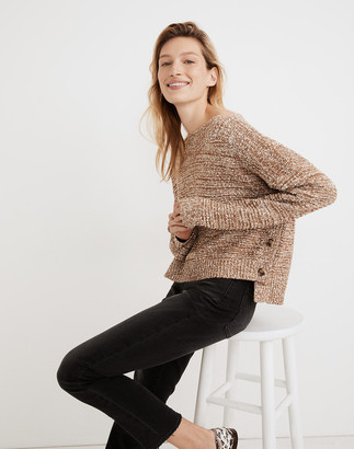 Madewell Boatneck Side-Button Sweater