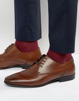 Aldo Lentina Leather Derby Shoes