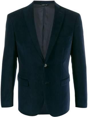 Tonello single-breasted velour blazer
