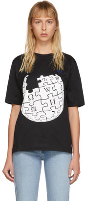 Études Black Wikipedia Edition Unity Sphere T-Shirt