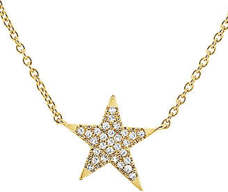Sabrina Designs 14K 0.15 Ct. Tw Ct. Tw. Diamond Star Necklace