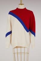 MAISON KITSUNÉ Wool and cashmere sweater
