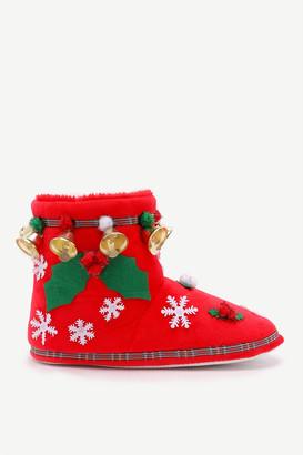 Ardene Festive Bootie Slippers