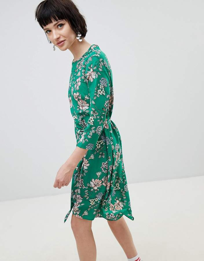 New Look Floral Midi Dress