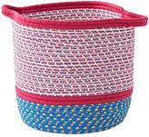Pink Rope Storage Basket