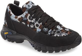 Cecilie Bahnsen Max Floral Macrame Hiking Sneaker