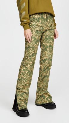 Off-White Ripstop Camo Carpenter Pants