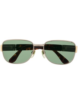 Bulgari Pre Owned Square-Frame Sunglasses