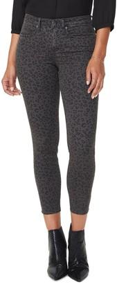 NYDJ Ami High Waist Printed Ankle Skinny Jeans