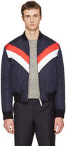 DSQUARED2 Navy Canada Hiking Sports Down Jacket
