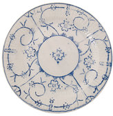 Vintage Blue Lunch Plate