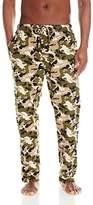 Hanes Men's Big Printed Knit Pajama Pant, Camo