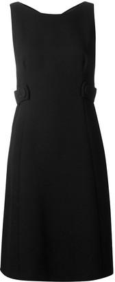 Prada Pre Owned 1990's Side Straps Dress