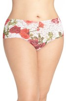 Hanky Panky Rose Red Thong (Plus Size)
