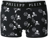 Philipp Plein skull print boxers - men - Cotton/Modal/Spandex/Elastane - S