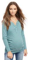 Motherhood Henley Maternity T Shirt