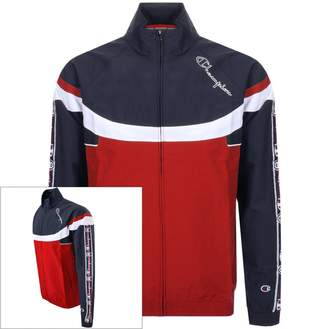 Champion Full Zip Logo Jacket Red