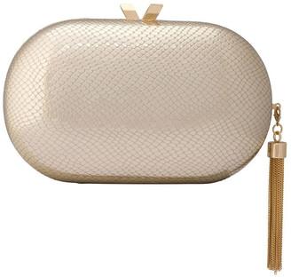 Olga Berg OB4754 Medusa Hardcase Clutch Bag