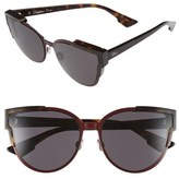 Christian Dior 'Wildly Dior' 60mm Butterfly Sunglasses