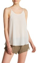 Chaser Scoop Back Silk Tank