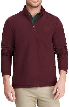 Chaps Big Tall Fleece Half-Zip Pullover