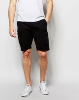 Blend of America Cargo Shorts Straight Fit in Washed Black