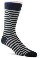Calvin Klein Broken Stripe Crew Socks
