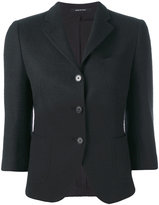Tagliatore buttoned jacket - women - Cotton/Spandex/Elastane/Cupro - 42