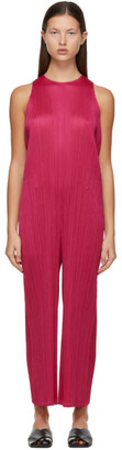Pleats Please Issey Miyake Pink Monthly Colors December Jumpsuit
