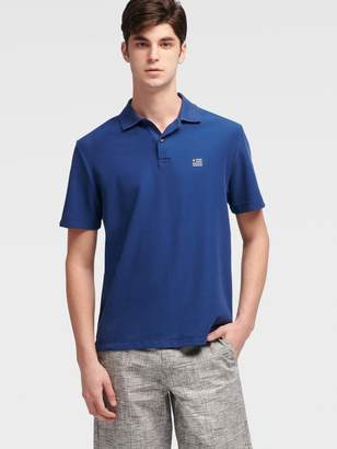 DKNY Flag Logo Polo