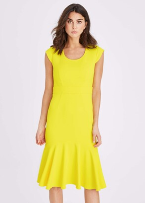 Phase Eight Abree Fitted Peplum Hem Dress