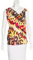 Vivienne Westwood Draped Silk Top