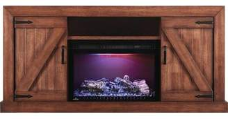 Napoleon Lambert TV Stand for TVs up to 75 inches with Electric Fireplace Included Napoleon