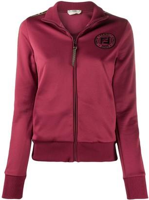 Fendi FF stripe zipped jacket