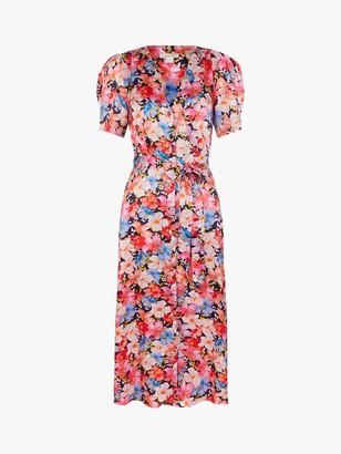 Monsoon Faith Floral Print Dress, Multi