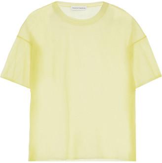 Mansur Gavriel Mesh T-shirt