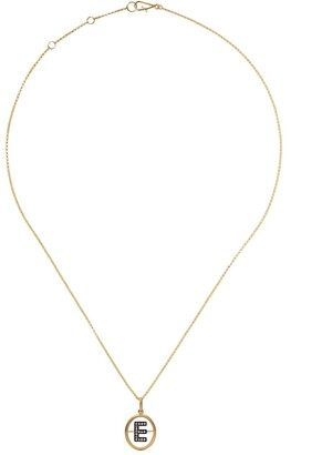 Annoushka 18kt Yellow Gold Diamond Initial Necklace