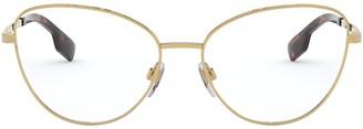 Burberry Eyewear Cat Eye Frame Glasses