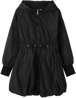 Habitual Girl's Camari Nylon Hooded Bubble Jacket, Size 7-16