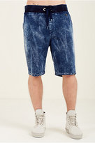 True Religion Decayed Terry Mens Sweatshort