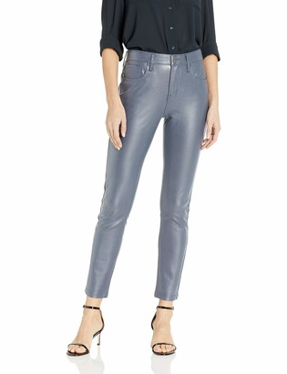 Seven7 Women's Coated Ponte Pant