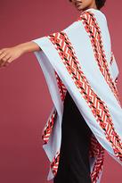 Anthropologie Bold Border Kimono