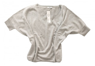 Non Signã© / Unsigned Oversize Silver Cashmere Knitwear