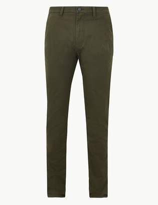 M&S CollectionMarks and Spencer Skinny Fit Chinos with Stretch