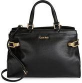 Calvin Klein Pebbled Leather Satchel