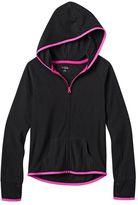 Girls 7-16 & Plus Size SO® Raglan Zip-Up Fleece Hoodie