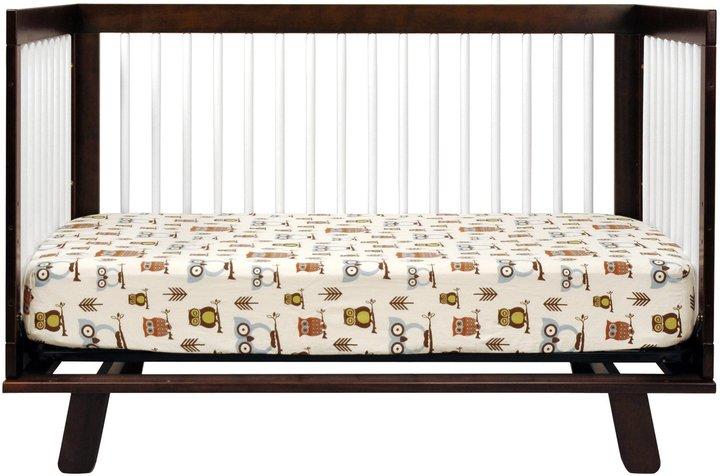 Babyletto Hudson 3-in-1 Convertible Crib- White/Espresso