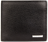 Hugo Boss Boss Signature 8 Card Textured Leather Wallet, Black