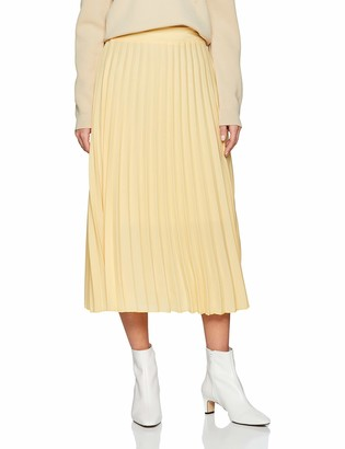New Look Women's Pleated Midi 6065306 Skirt