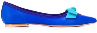 Anna Baiguera Bow-Detail Ballerina Shoes